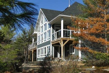 Muskoka Waterfront Riverstone Cottage