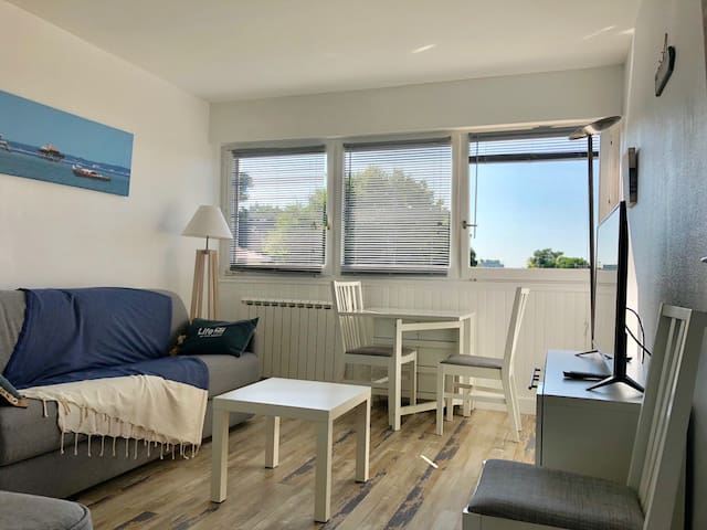 Moulleau Studio 3 pers  250m de la plage + parking