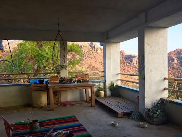 Maravillosa habitación en terraza de AMATLAN