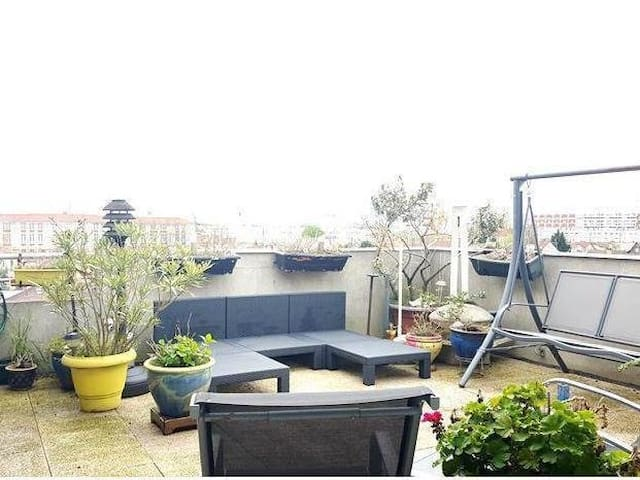 Awesome right place to be - Villeneuve-la-Garenne - Loft