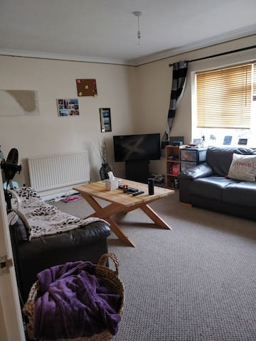 Homely spacious 1 bed apartment + big living room