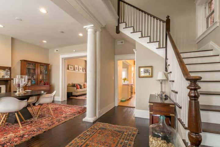 Gorgeous and spacious Church Hill Home