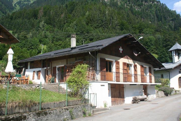 chalet Beaufort Savoie