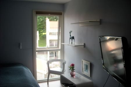 Nice, spacious, peaceful room, walk to center - Όσλο