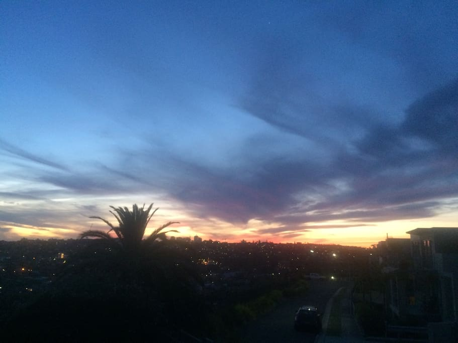 Another Bondi sunset from the deck