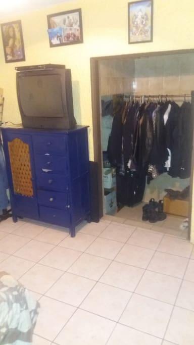 Room's closet