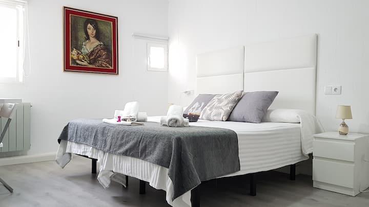 """N3""""Casa Botes""""habitación de 2 camas y baño privado"""