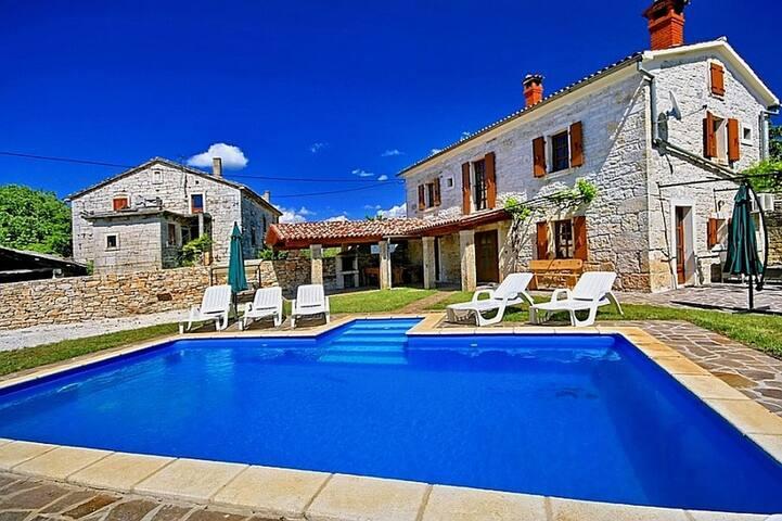 Villa David with swimming pool - Srbinjak - Hus