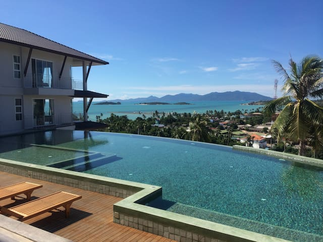 The Bay Panoramic Studio, Balcony, Pool & Gym. - Koh Samui - Leilighet