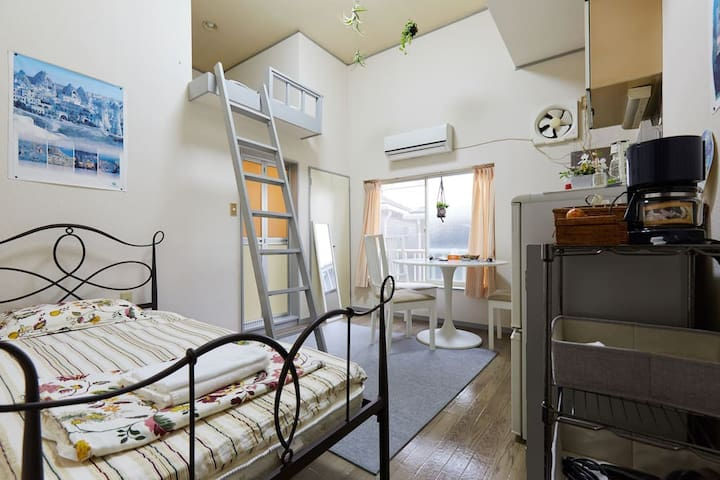 HomeWifi, Tranquil Showa retreat near Shinjuku!C/3 - Suginami-ku - Apartment