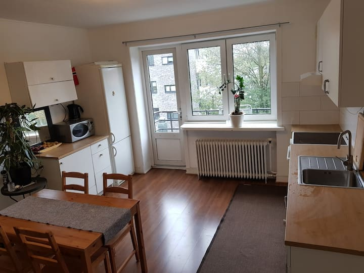 Spacious double room 7 min from Central Oslo S.