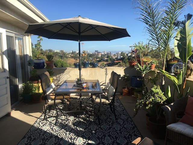 SoCal Paradise above the trees