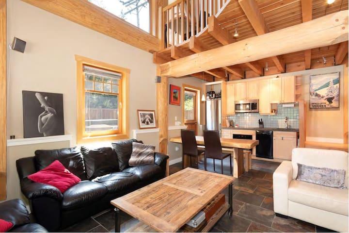 Whistler 3 Bedroom Log Home