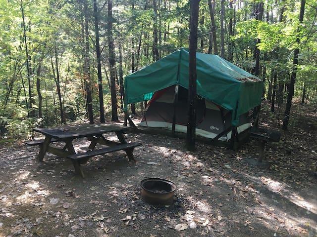 Ocoee River Tent Glamping 1