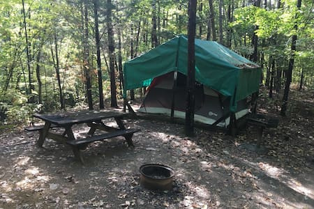 Ocoee River Tent Glamping