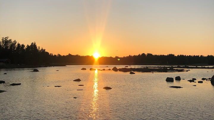 Havsnära stuga, Finnharsfjärden - Axmar