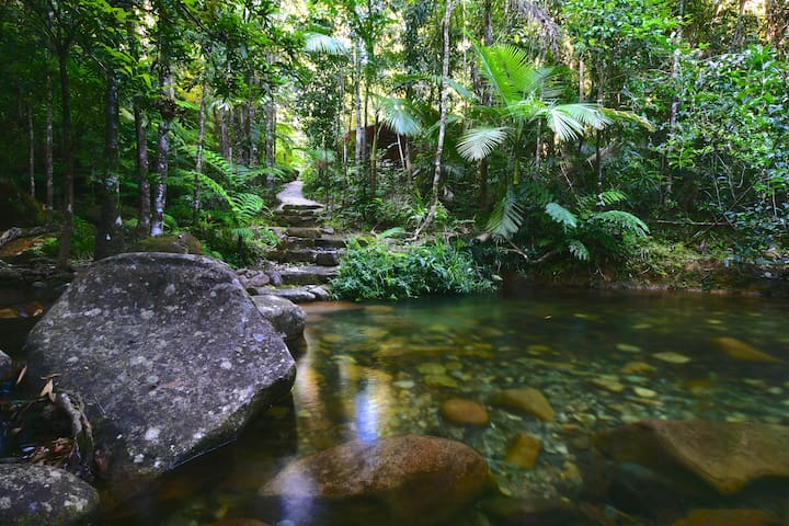 Daintree Cascades The Cottage - Daintree - บ้าน
