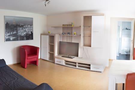 Stadtnahe möblierte Wohnung mit Blick ins Grüne - Werne - Huoneisto