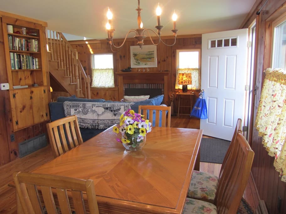 Open Dining Room and Living area