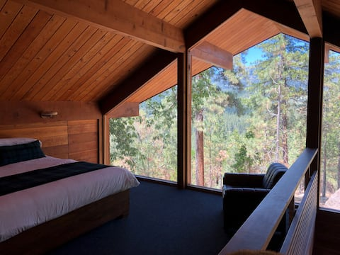Upstairs Master Bedroom with Epic Views