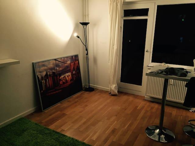 Funktionelle 1-Zimmerwohnung mit großem Balkon - Hamburg