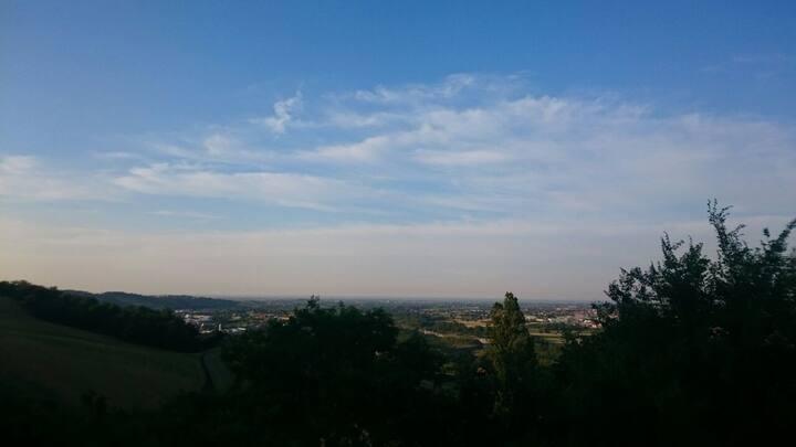 Nella quiete a poca distanza dal centro di Rimini