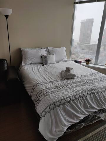 Master Bedroom prepared for your comfort