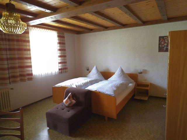 Sulzerhof, (Bad Rippoldsau-Schapbach), Doppelzimmer mit Dusche und WC