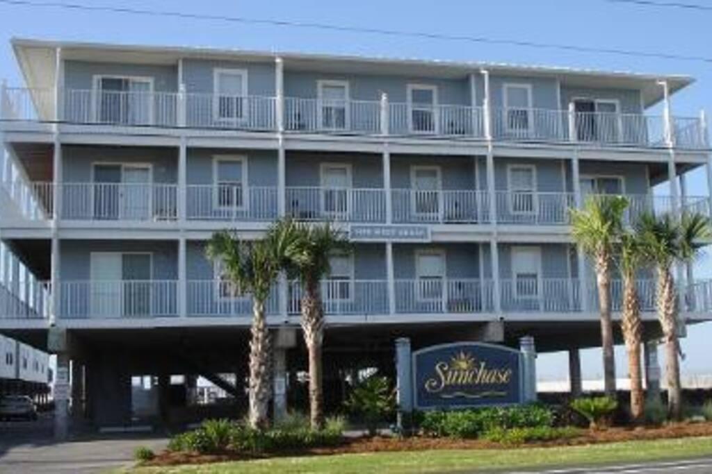 Beachside Gulf Shores 2 Bedroom Condo Sunchase 206