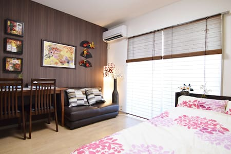 NEW!5 MIN SHINJUKU ON YAMANOTE/WIFI - 新宿区 - Huoneisto