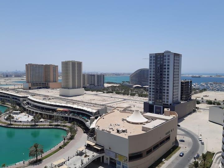 2BR Amwaj Lagoon Apartment w/amazing sea views