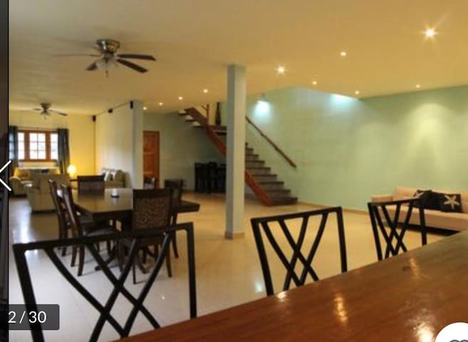 Duplex located three minutes walking from town