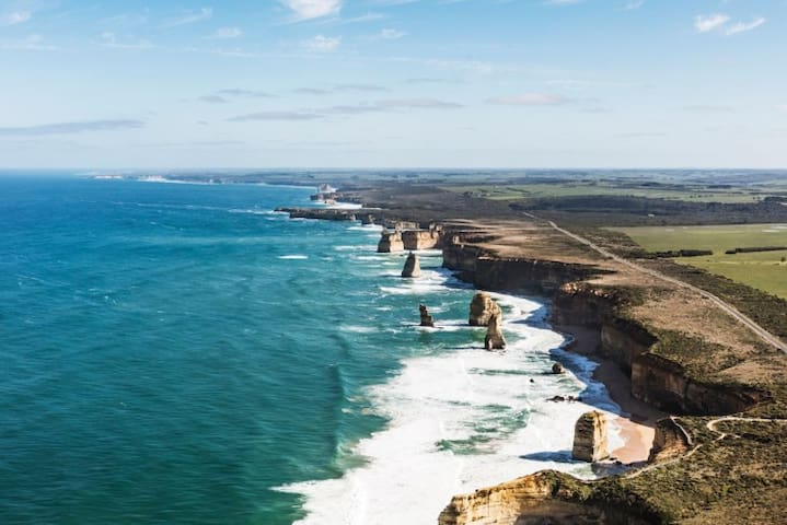 12 Apostles from the sky