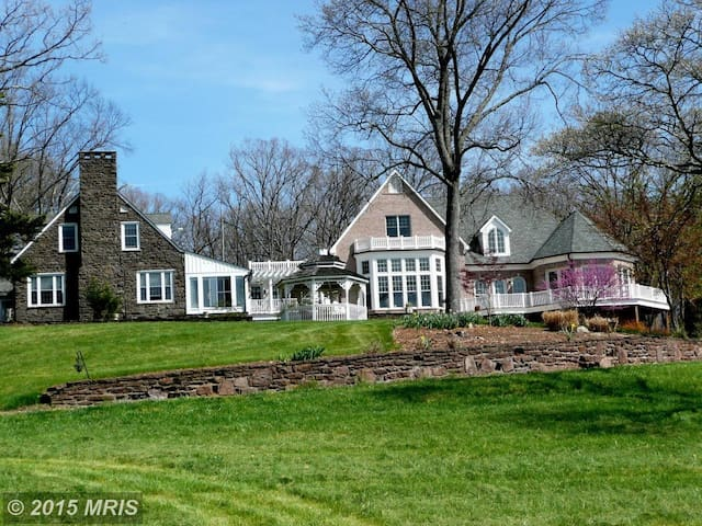 15,000 square foot mansion on 100 acre horse farm - Aldie - Huis