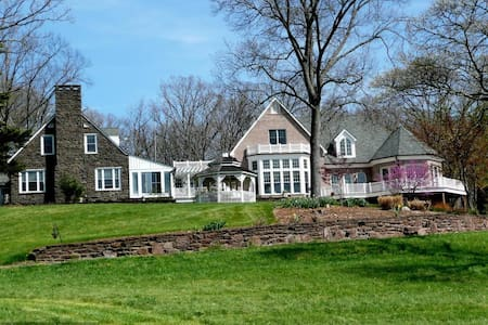 15,000 square foot mansion on 100 acre horse farm - Aldie - Bed & Breakfast