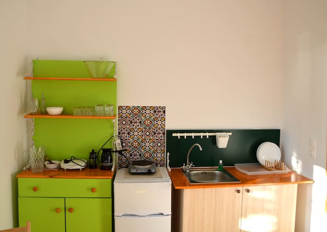 Our kitchenette!
