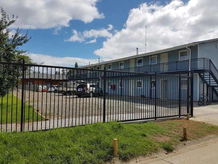 Departamento 4 personas Isla Teja Sur Valdivia