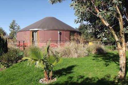 Eco-lodge Mont-Saint-Michel - Rundzelt