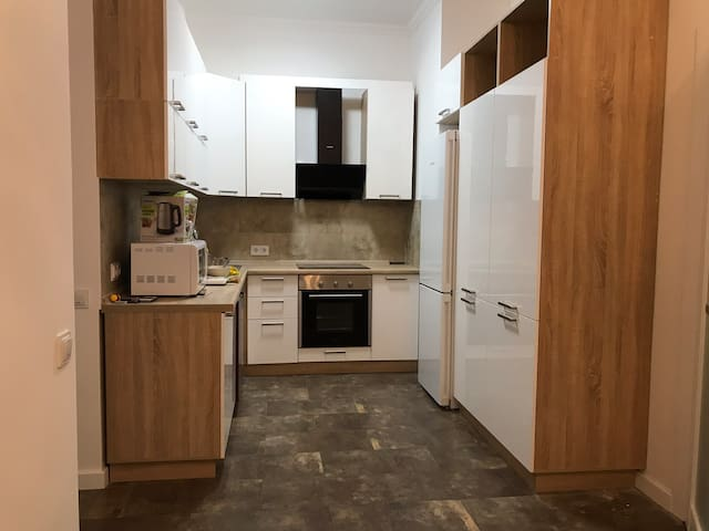 New apartment in the heart of Kiev