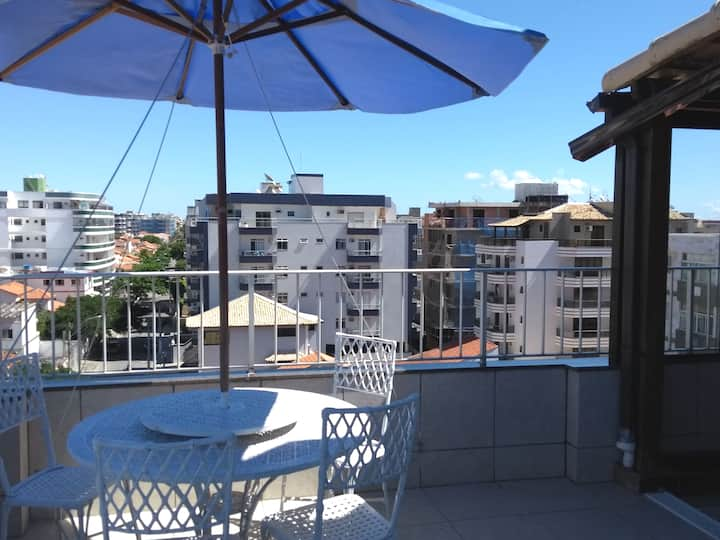 Welcome to Cabo Frio stay in a Penthouse