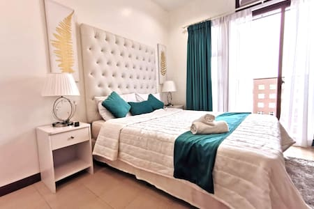 Teal Haven - NEW BIG Studio w/ balcony Ayala Cebu