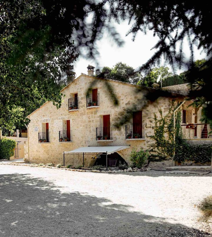 Renovated Old watermill house built in 1800.