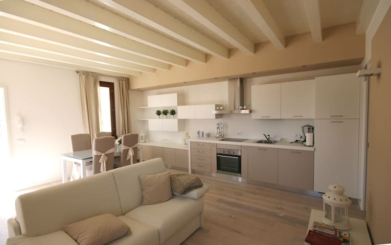 Luxury apartment with pool- Bogliaco golf - Toscolano-Maderno - Appartement