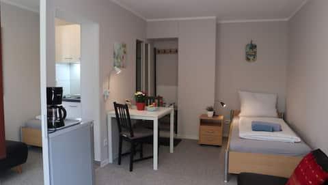 """Komfortabel leilighet """"Sunrise"""" i nærheten av Frankfurt"""