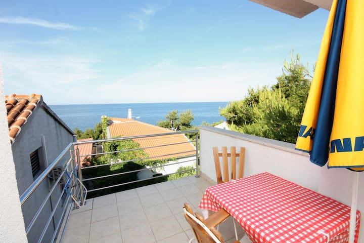One bedroom apartment with terrace and sea view Murter (A-5078-a)