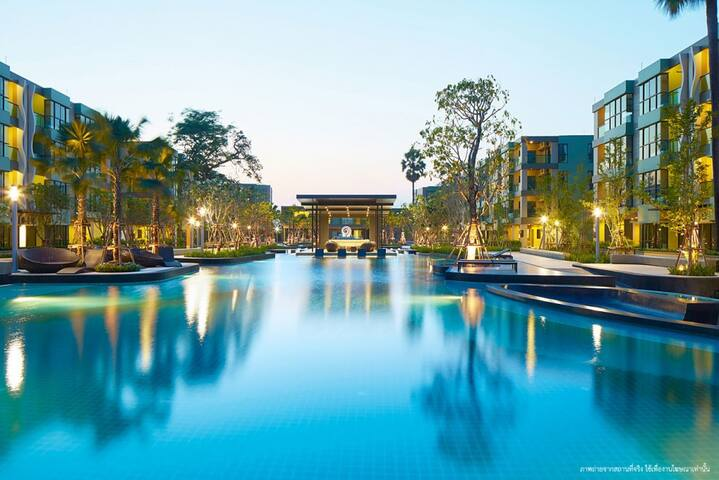 Lumpini Park Beach Cha-am @ Swimming Pool View