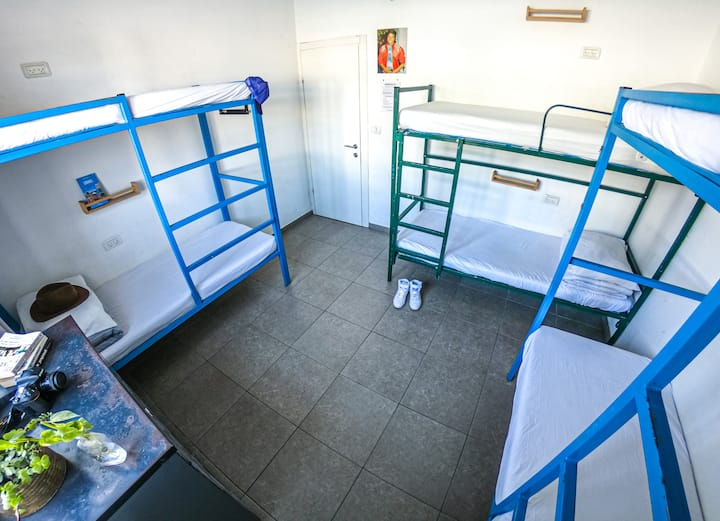 1 bed in 6 bed mixed dorm