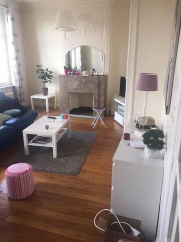 appartement de 75M2, proche gare Lille Flandres - Lille - Apartment