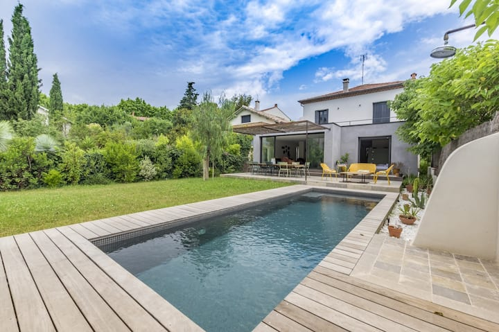 Villa with pool near the center - Montpellier