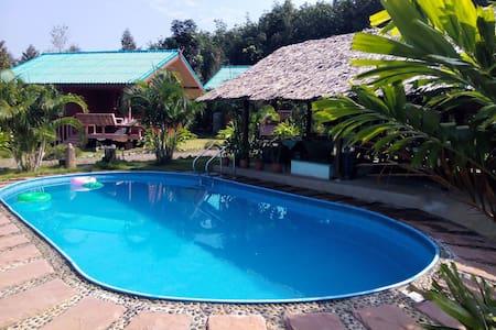 Gemütl. kl. natur Resort mit Pool